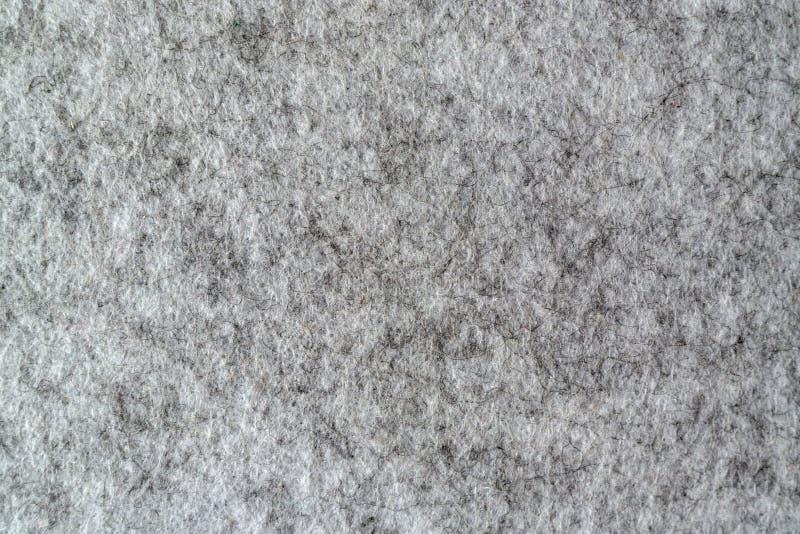 Texture de feutre de gris photo stock
