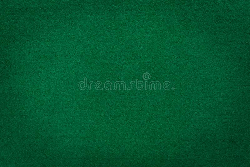 Texture de feutre de vert pour le fond de casino images stock