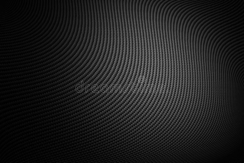 Texture de fibre de carbone Fond de technologie neuve image stock