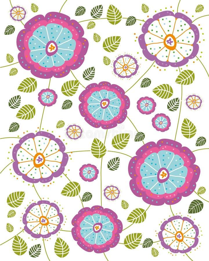 Texture de fleur illustration stock