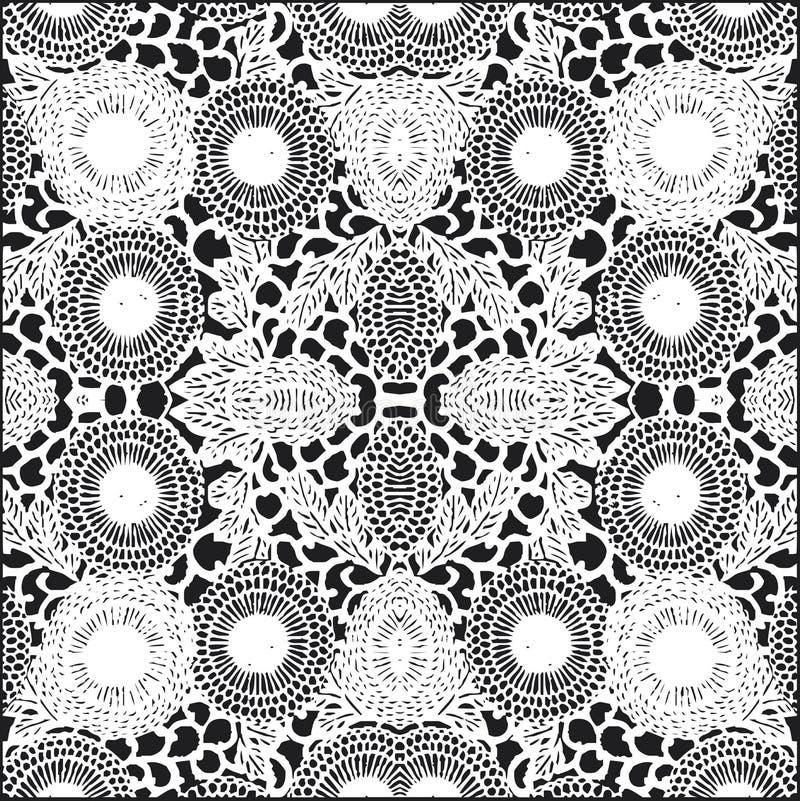 Texture de fleur dans l'évolution illustration libre de droits