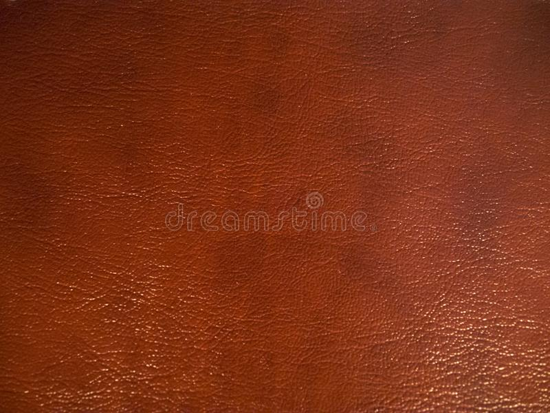 Texture de fond de cuir de brun foncé photo libre de droits