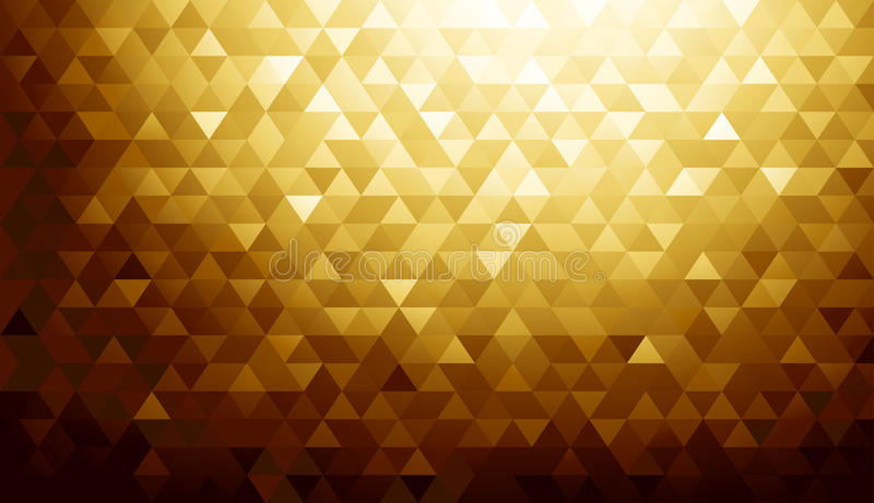 Texture de fond d'or illustration libre de droits