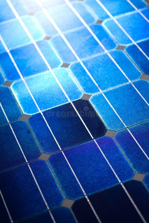 Texture de fond de configuration de piles solaires image stock