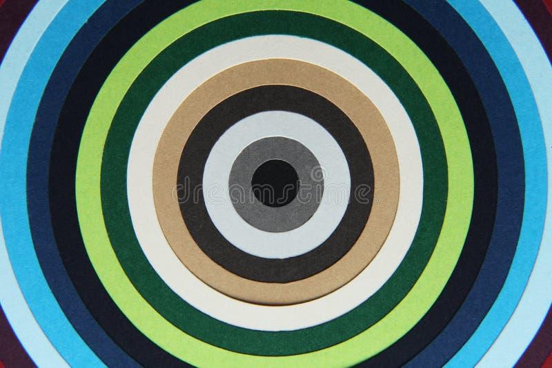 Texture de fond de papier coloré dans des cercles illustration de vecteur