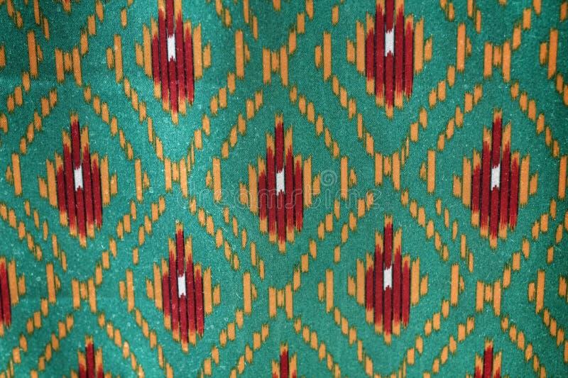 Texture de fond de tissu en soie photographie stock libre de droits