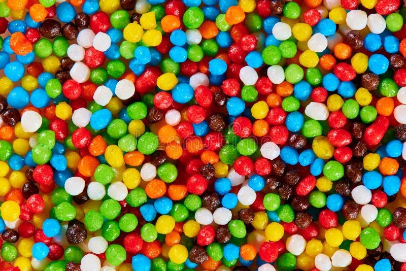 Texture de fond des bonbons color?s lumineux image stock
