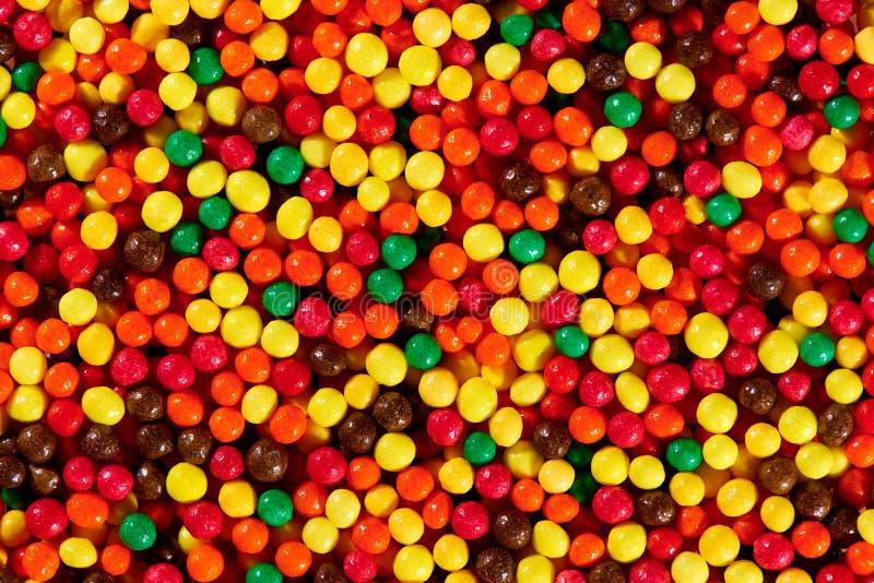 Texture de fond des bonbons color?s lumineux photo libre de droits