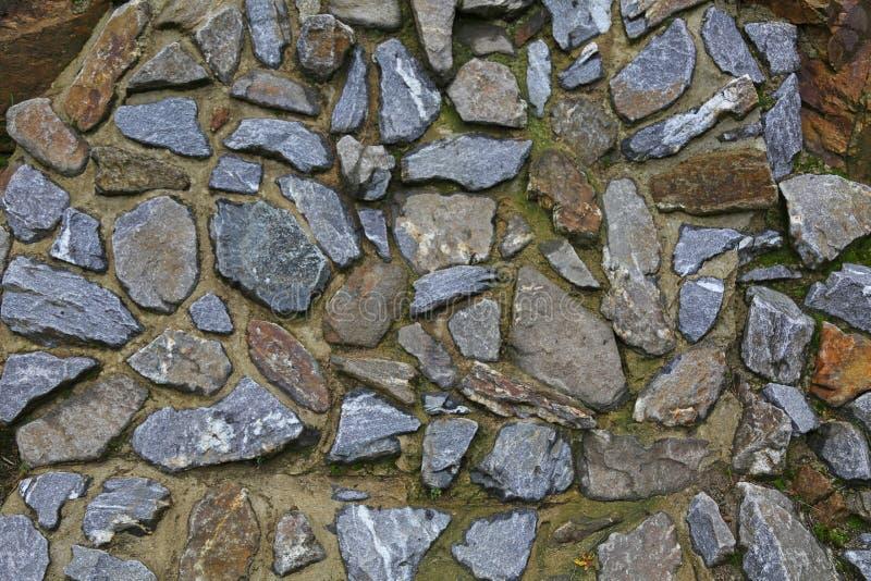 Texture de fond des pierres grises photos libres de droits