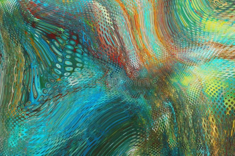 Texture de fond de lumières illustration libre de droits