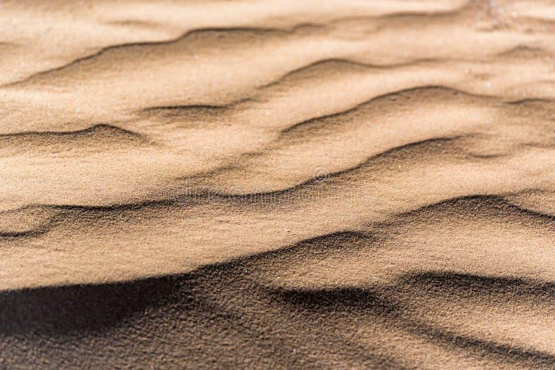 Texture de fond de modèle de sable de dune photos stock