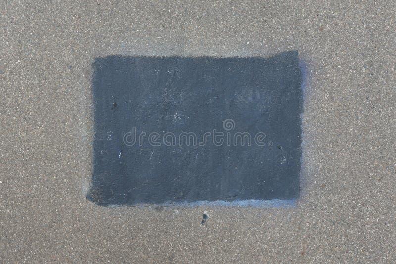 Texture de fond de route goudronnée du macadam, vue supérieure photos stock