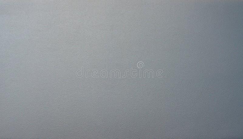 Texture de fond structurée par peau en cuir bleue grise image stock