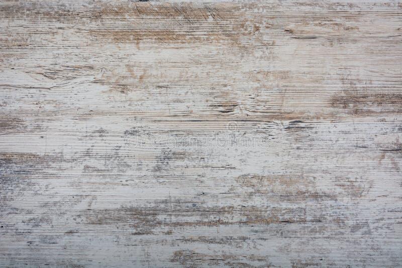 Texture de fond de vieux bois léger minable, panneaux photos libres de droits