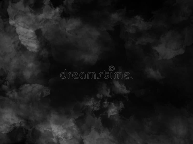 Texture de fumée sur le fond noir Fumée d'isolement, texture de fumée, poudre abstraite, jet de la poussière sur le fond noir photos stock