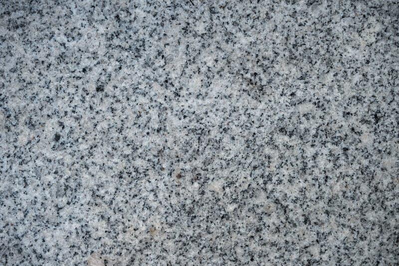 Texture de granit avec une miette de couleur grise et noire images stock
