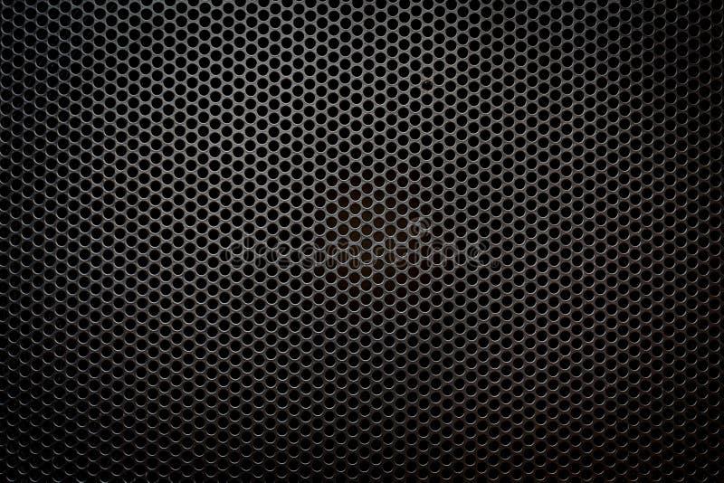 Texture de gril de haut-parleur illustration libre de droits