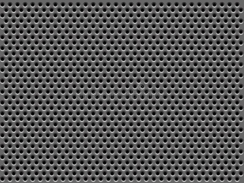 Texture de gril en métal illustration libre de droits