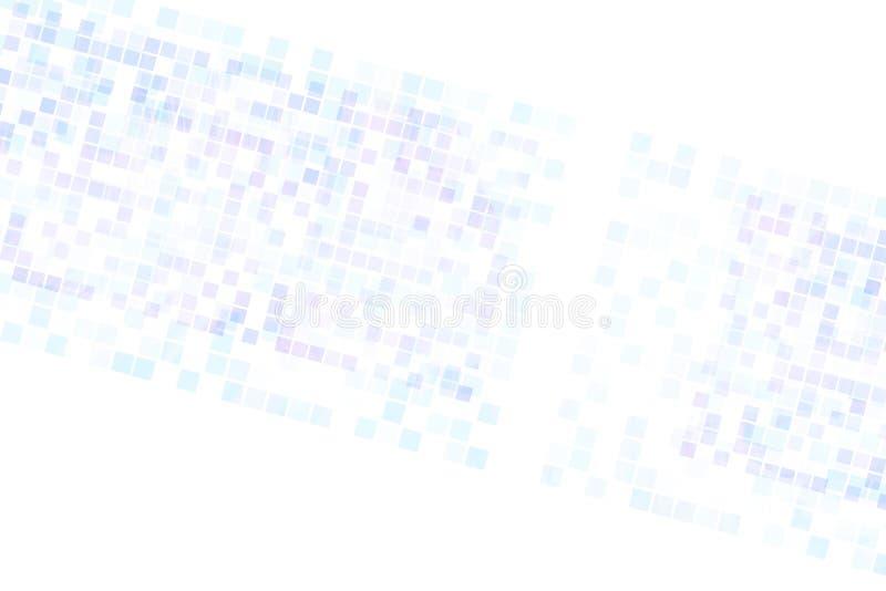 Texture de grille de pixel de places illustration libre de droits
