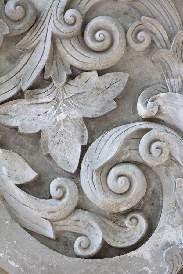 Texture de gris fonctionnant de stuc images libres de droits