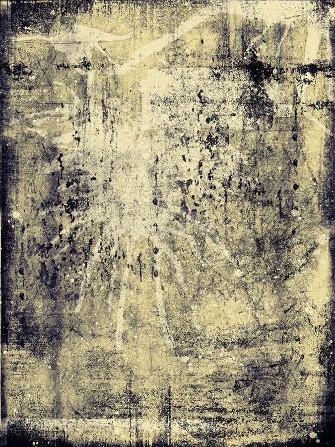 Texture de grunge de cru illustration de vecteur