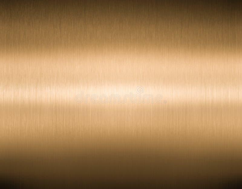 Texture de haute qualité balayée d'en cuivre ou de bronze image libre de droits