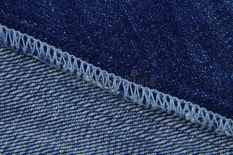 Texture de jeans Couleur bleue images stock