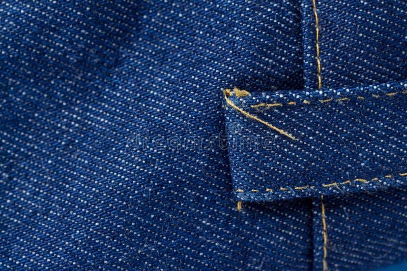 Texture de jeans de denim Texture de fond de denim pour la conception image libre de droits