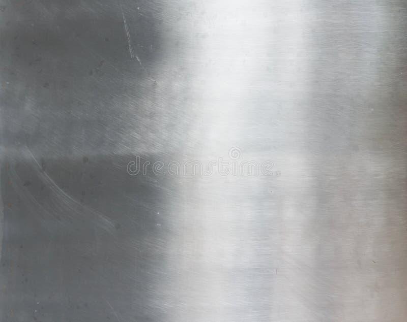 Texture de la plaque d'acier balayée image stock