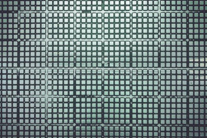Texture de la plate-forme argentée en métal sur le plancher pour le fond image libre de droits