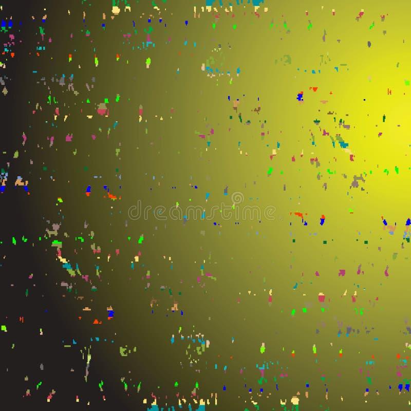 Texture de la poussière de l'espace illustration de vecteur