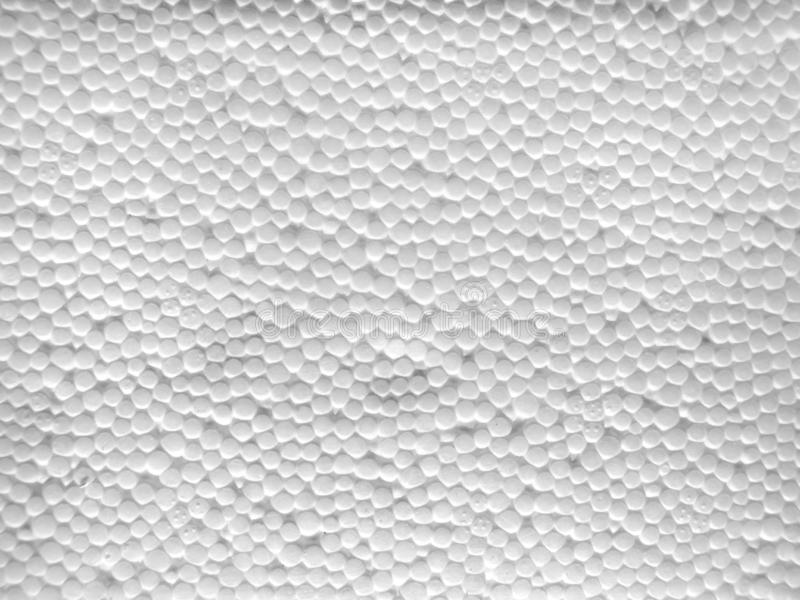Texture de la surface de la mousse de styrol blanche photos stock