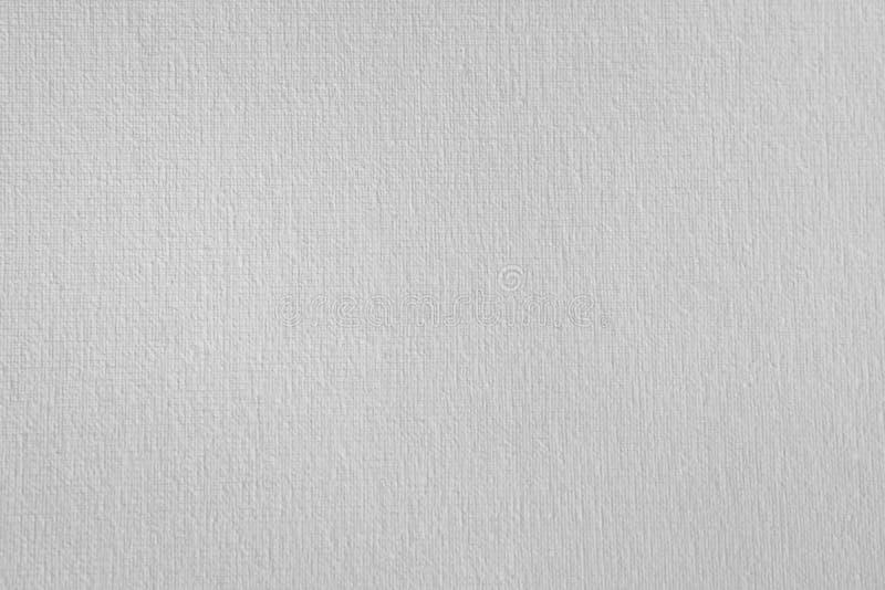 Texture de la toile blanche Fond gravant en refief de papier photos stock
