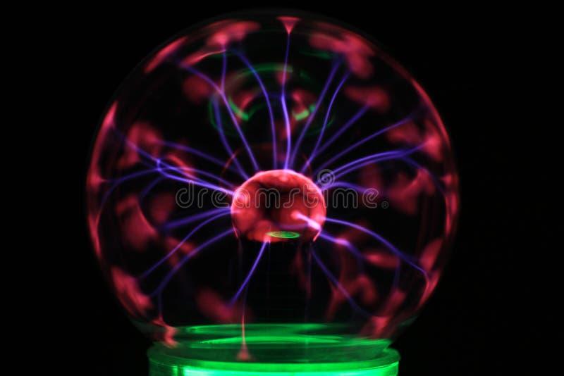 texture de lampe de plasma photos stock