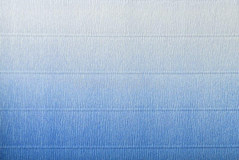 Texture de livre blanc bleu et ondulé avec le gradient images stock