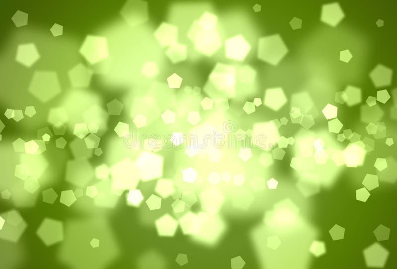 Texture de lumière de Bokeh images libres de droits
