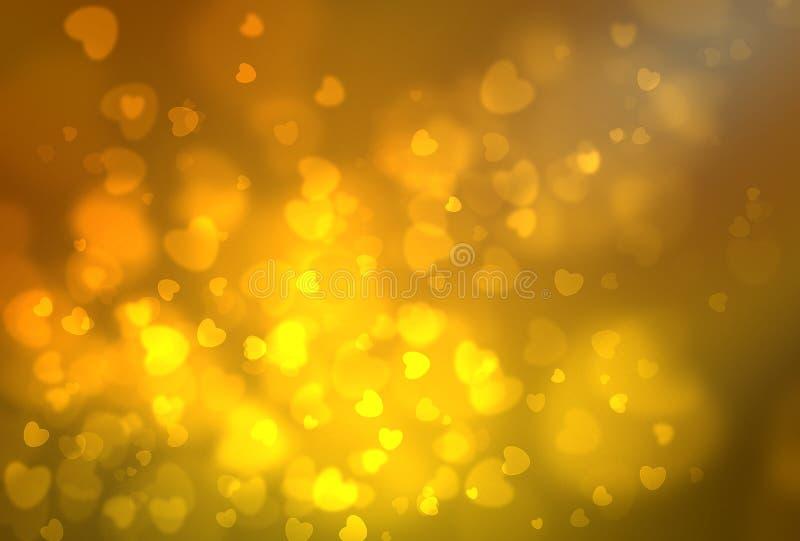 Texture de lumière de Bokeh illustration de vecteur