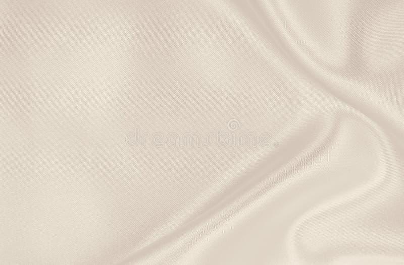 Texture de luxe d'or ?l?gante douce de tissu de soie ou de satin en tant qu'?pouser le fond Conception luxueuse de fond Dans la s images libres de droits
