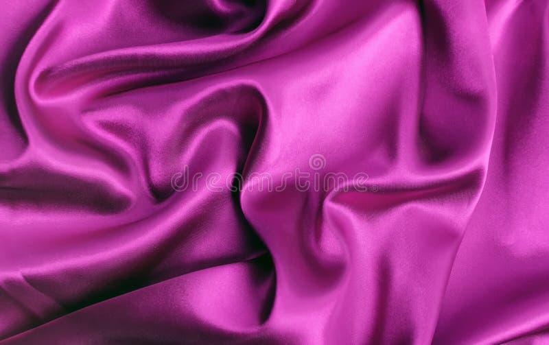 Texture de luxe rose de tissu de soie ou de satin de tissu de Legant photographie stock