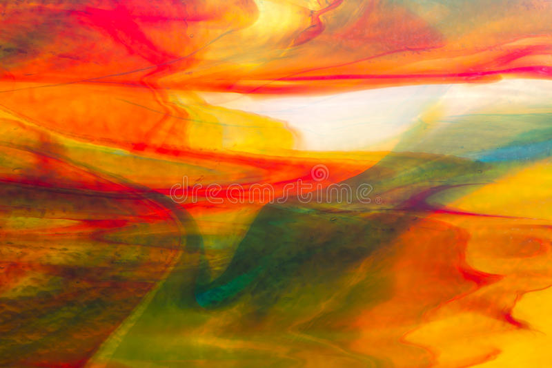 Texture de macro en verre souillé photos stock