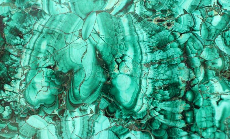 Texture de malachite photos libres de droits
