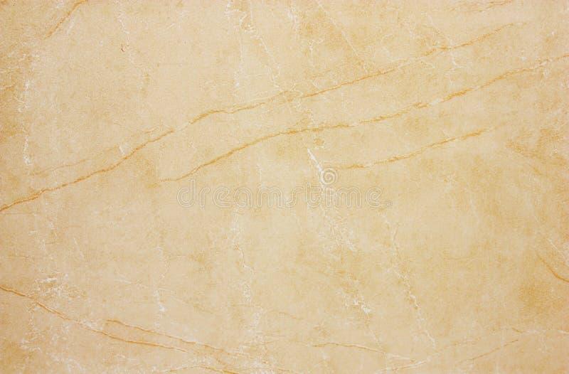 Texture de marbre beige photos libres de droits