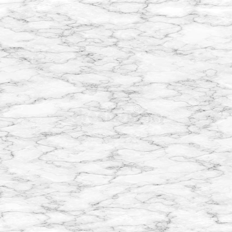 Texture de marbre blanche avec le modèle naturel pour l'oeuvre d'art de fond ou de conception intérieure Surface de marbre abstra photographie stock libre de droits