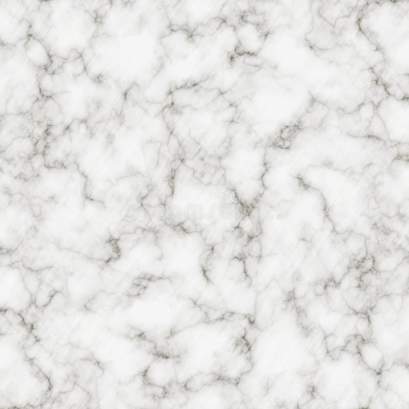 Texture de marbre blanche avec le modèle naturel pour l'oeuvre d'art de fond ou de conception intérieure Surface de marbre abstra image stock