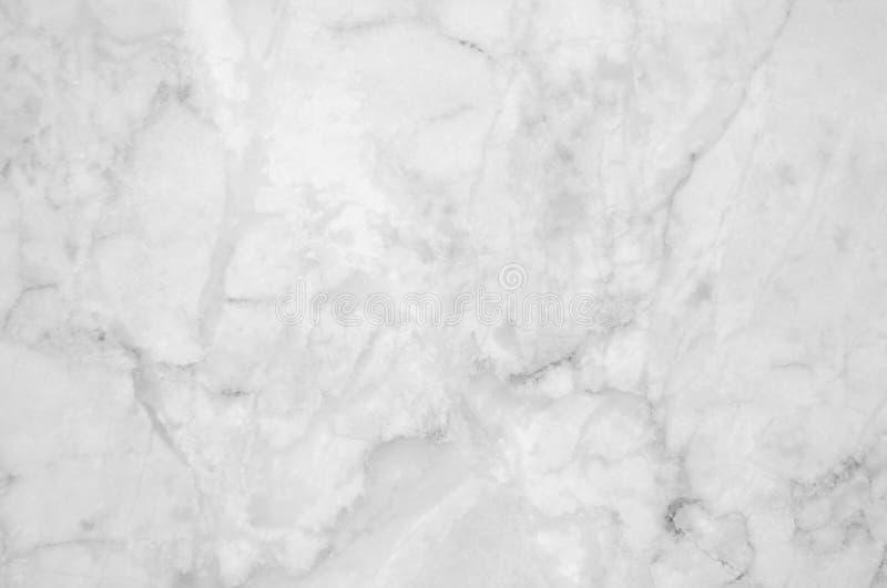 Texture de marbre blanche et grise avec les veines sensibles photographie stock libre de droits
