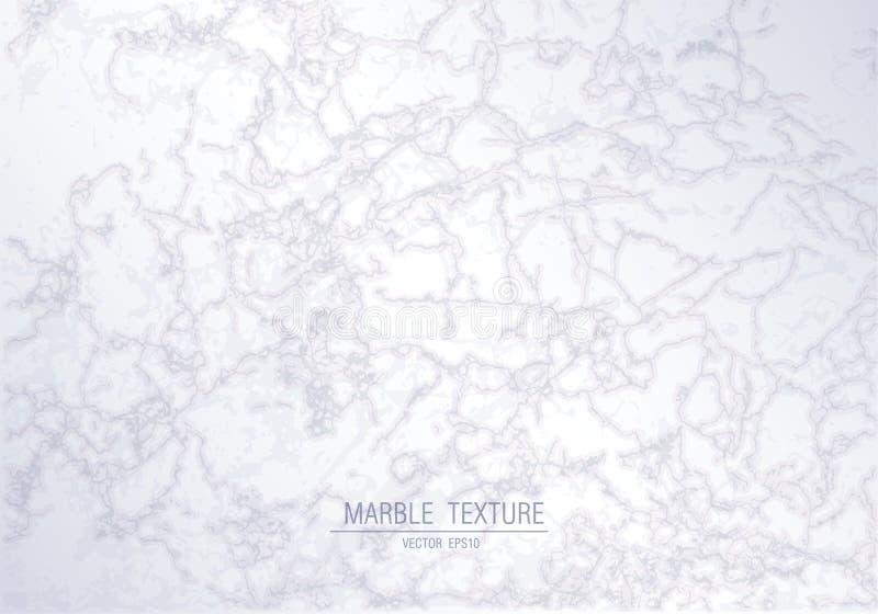 Texture de marbre blanche Fond coloré abstrait de vecteur illustration stock