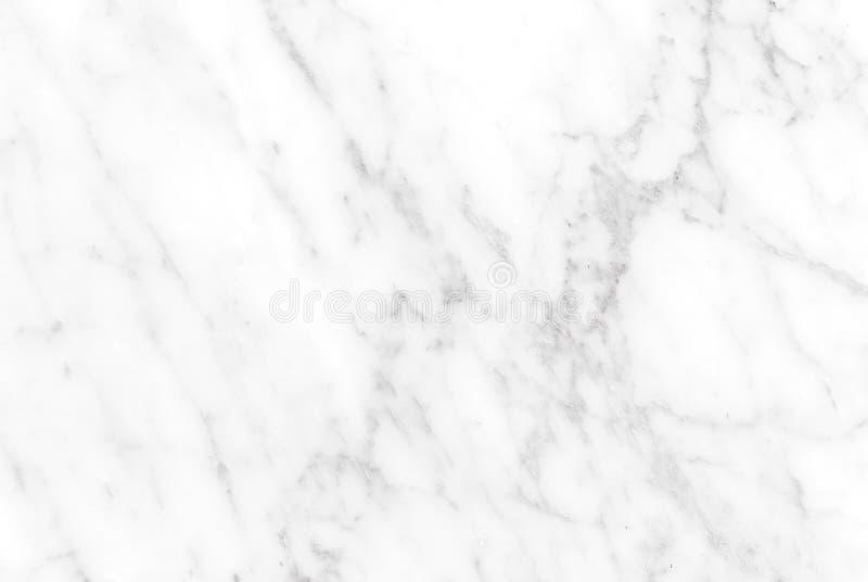 Texture de marbre blanche, modèle pour le fond luxueux de papier peint de tuile de peau photo libre de droits