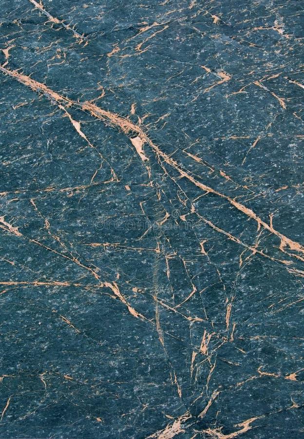 Texture de marbre bleue photographie stock libre de droits