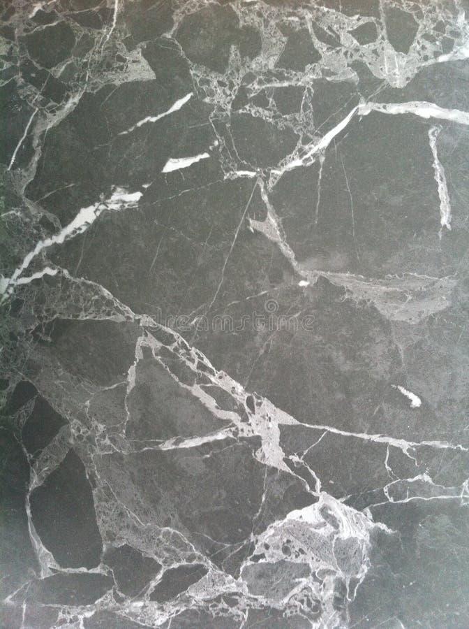 Texture de marbre foncée Pierre naturelle polie avec les veines blanches, lignes illustration stock