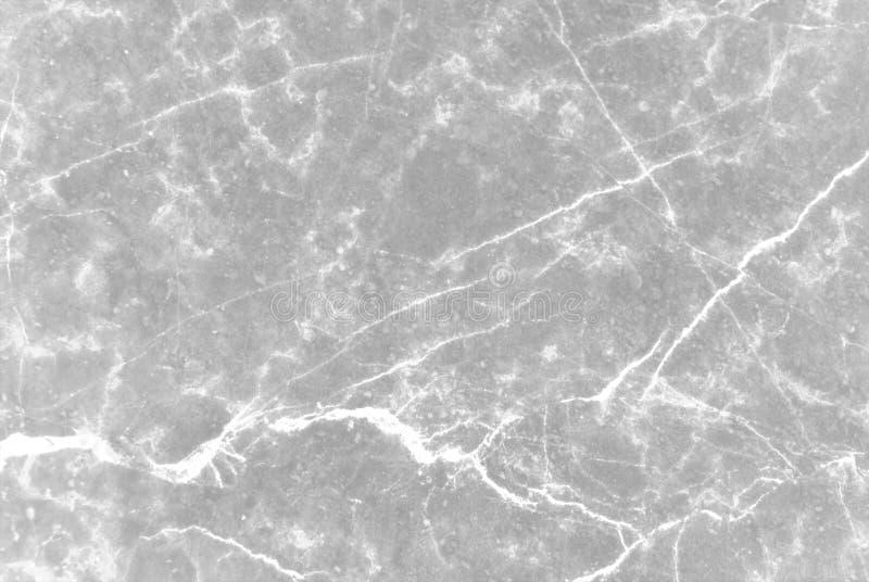 Texture de marbre grise blanche avec le modèle naturel pour l'oeuvre d'art de fond ou de conception photo libre de droits